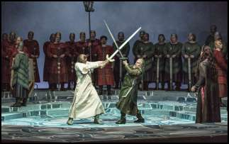 Lohengrin sword fight