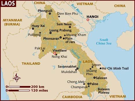 JMac-Map of Laos